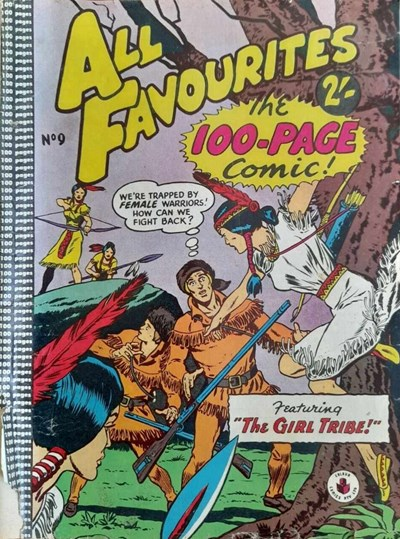 All Favourites, The 100-Page Comic (Colour Comics, 1958 series) #9 ([September 1958?])