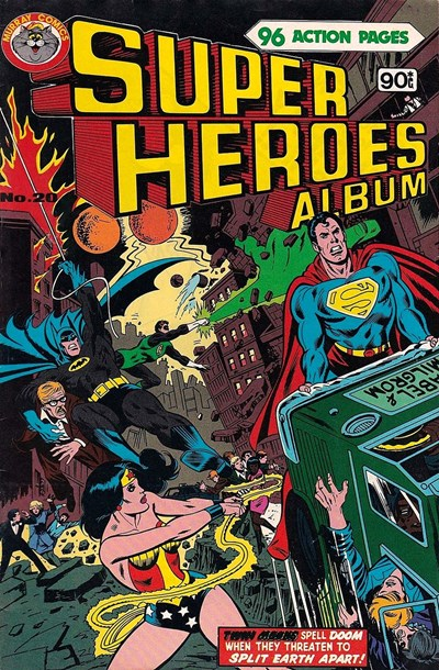 Super Heroes Album (Murray, 1977 series) #20 ([May 1981])
