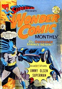 Superman Presents Wonder Comic Monthly (Colour Comics, 1965 series) #8 — No title recorded