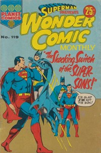Superman Presents Wonder Comic Monthly (KG Murray, 1973 series) #119