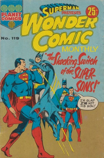 The Shocking Switch of the Super-Sons!