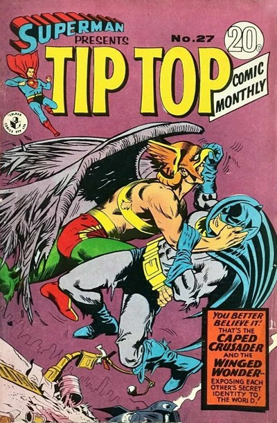 Superman Presents Tip Top Comic Monthly (Colour Comics, 1965 series) #27 ([July 1967?])