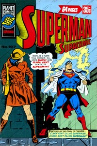 Superman Supacomic (KG Murray, 1974 series) #197