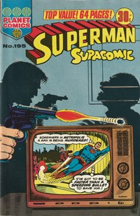 Superman Supacomic (KG Murray, 1974 series) #195 — No title recorded