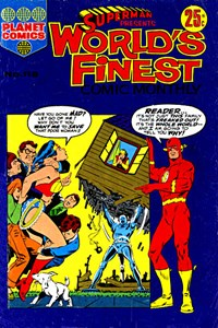 Superman Presents World's Finest Comic Monthly (KG Murray, 1974 series) #116 — No title recorded