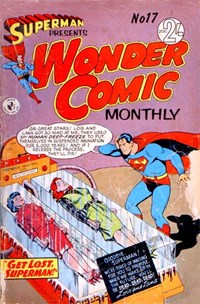 Superman Presents Wonder Comic Monthly (Colour Comics, 1965 series) #17 — Get Lost, Superman!