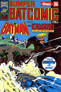 Bumper Batcomic (KG Murray, 1976 series) #3