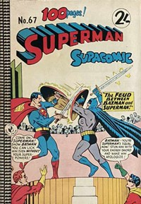 Superman Supacomic (Colour Comics, 1959 series) #67 — No title recorded