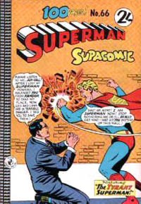 Superman Supacomic (Colour Comics, 1959 series) #66 — No title recorded