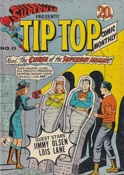 Superman Presents Tip Top Comic Monthly (Colour Comics, 1965 series) #11 ([March 1966?])