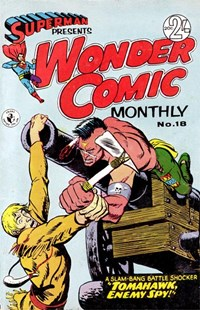 Superman Presents Wonder Comic Monthly (Colour Comics, 1965 series) #18 ([October 1966?])