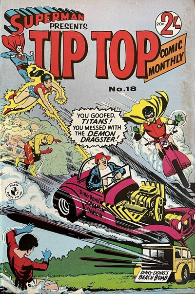 Superman Presents Tip Top Comic Monthly (Colour Comics, 1965 series) #18 ([October 1966?])