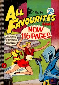 All Favourites Comic (Colour Comics, 1960 series) #26