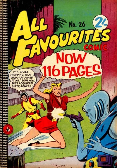 All Favourites Comic (Colour Comics, 1960 series) #26 ([August 1961?])