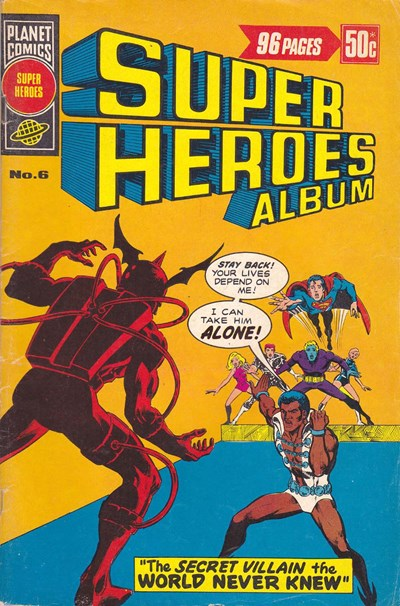 Super Heroes Album (KG Murray, 1977? series) #6 ([June 1977?])