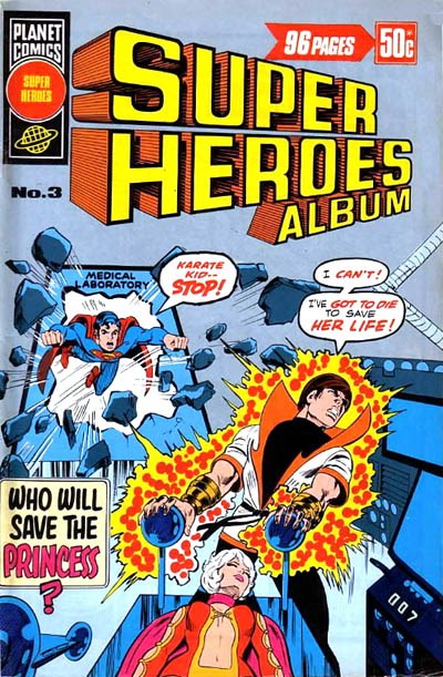 Super Heroes Album (KG Murray, 1977? series) #3 ([September 1976?])