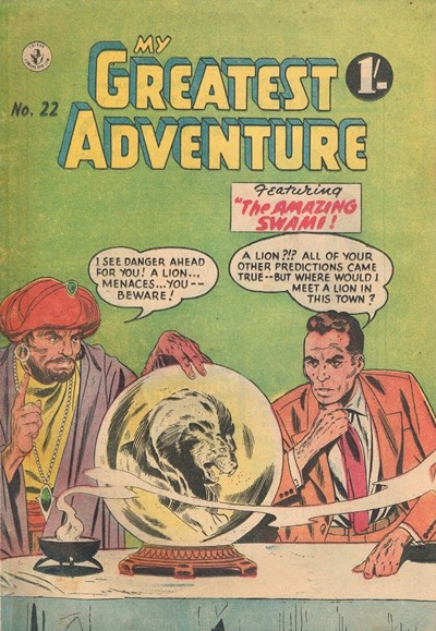 My Greatest Adventure (Colour Comics, 1955 series) #22 ([January 1957])