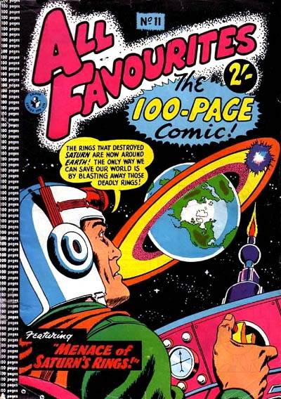 All Favourites, The 100-Page Comic (Colour Comics, 1958 series) #11 ([January 1959?])