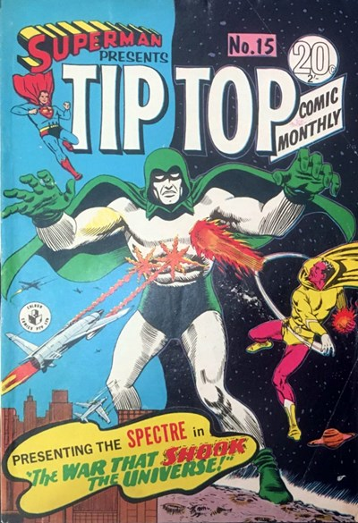 Superman Presents Tip Top Comic Monthly (Colour Comics, 1965 series) #15 ([July 1966?])