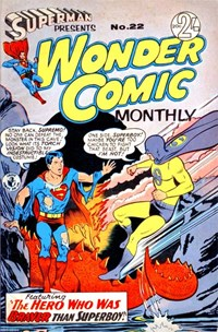Superman Presents Wonder Comic Monthly (Colour Comics, 1965 series) #22 ([February 1967?])