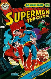 Superman the Comic (Murray, 1978 series) #4 — Chase to the End of Time!