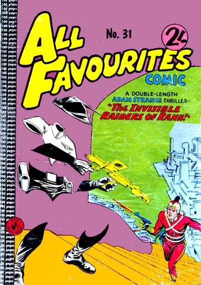 All Favourites Comic (Colour Comics, 1960 series) #31 ([June 1962?])