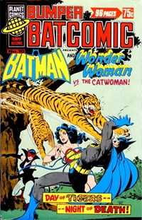 Bumper Batcomic (Murray, 1978 series) #10 — Day of Tigers--Night of Death!