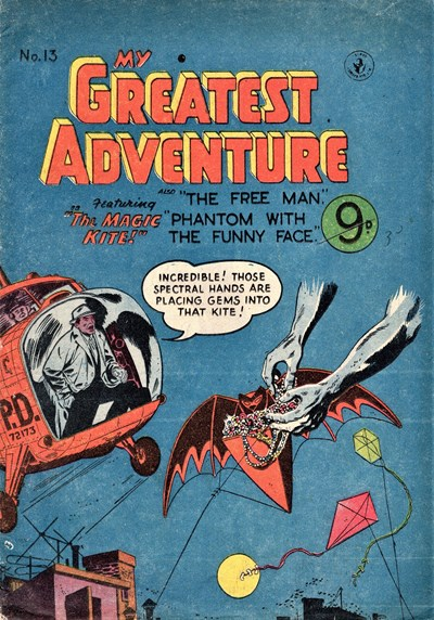 My Greatest Adventure (Colour Comics, 1955 series) #13 ([April 1956])