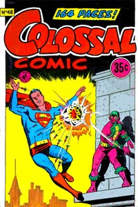 Colossal Comic (Colour Comics, 1958 series) #48 — No title recorded (Cover)