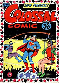 Colossal Comic (Colour Comics, 1958 series) #31 — No title recorded (Cover)