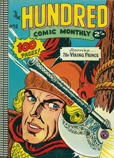 The Hundred Comic Monthly (Colour Comics, 1956 series) #32 ([May 1959?])