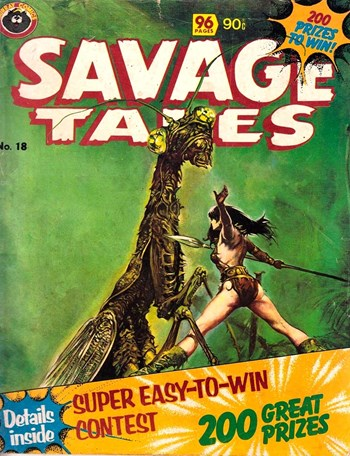 Savage Tales (Murray, 1979? series) #18  (May 1980)