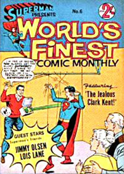 Superman Presents World's Finest Comic Monthly (Colour Comics, 1965 series) #6 ([October 1965?])