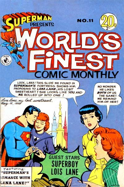 Superman Presents World's Finest Comic Monthly (Colour Comics, 1965 series) #11 ([March 1966?])