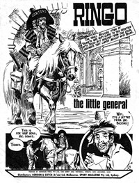 Climax Adventure Comic (Sport Magazine, 1968 series) #7 — The Little General (page 1)