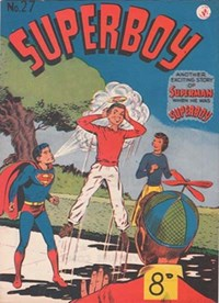 Superboy (Colour Comics, 1950 series) #27 — Untitled