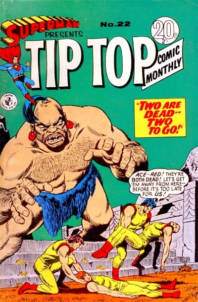 Superman Presents Tip Top Comic Monthly (Colour Comics, 1965 series) #22 ([February 1967?])