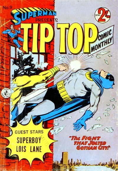 Superman Presents Tip Top Comic Monthly (Colour Comics, 1965 series) #9 ([January 1966?])