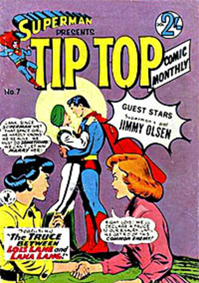 Superman Presents Tip Top Comic Monthly (Colour Comics, 1965 series) #7 ([November 1965?])