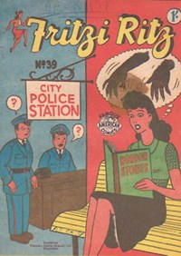 Fritzi Ritz (New Century, 1953 series) #39 — No title recorded