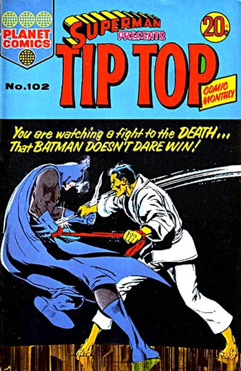 Superman Presents Tip Top Comic Monthly (Colour Comics, 1965 series) #102 ([November 1973?])
