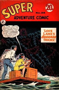 Super Adventure Comic (Colour Comics, 1960 series) #35 — No title recorded
