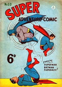 Super Adventure Comic (Colour Comics, 1950 series) #10