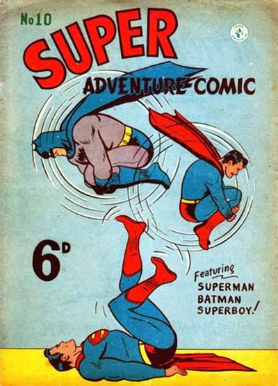 Super Adventure Comic (Colour Comics, 1950 series) #10 ([April 1951])