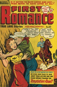 First Romance (Barmor, 1952 series) #20