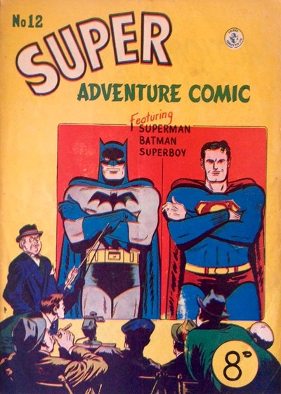 Super Adventure Comic (Colour Comics, 1950 series) #12 ([June 1951])