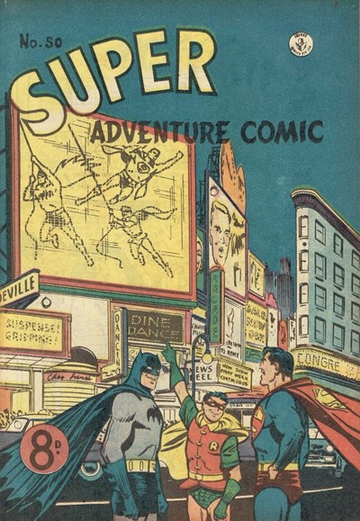 Super Adventure Comic (Colour Comics, 1950 series) #50 ([August 1954])