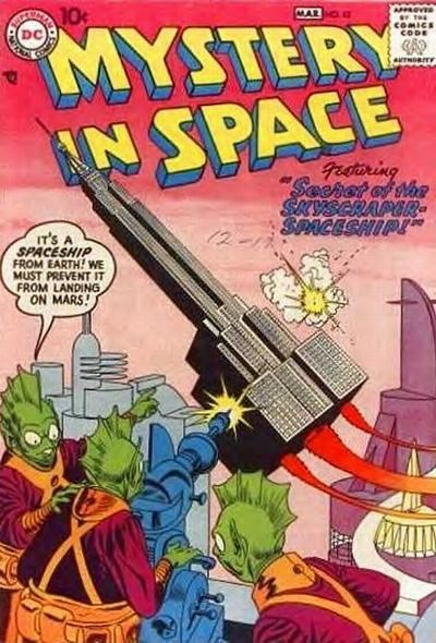 Mystery in Space (DC, 1951 series) #42 (February-March 1958)