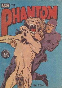 The Phantom (Frew, 1983 series) #734 (December 1981)
