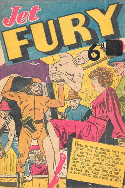 Jet Fury (Pyramid, 1951 series) #25 ([January 1952?])
